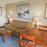 2 Room Executive Suite - Living Room with Queen Pullout