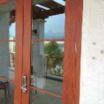 Front door, room 312