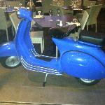 Famous Blue Scooter turns 50 next year