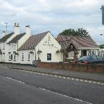 View of pub, from road