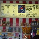 Ice Cream Store MENU
