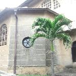 Back of the chapel from outside