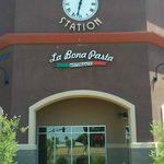La Bona Pasta - about 2 blocks west of Dysart on Indian School