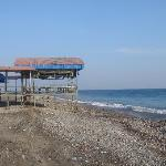 Nearby beachfront restaurant