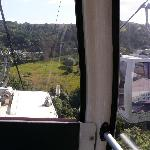 Cable car to Abrahams Heights