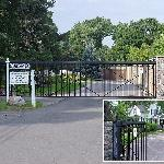 Carriage House entry gate