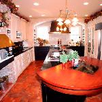 Carriage House master kitchen