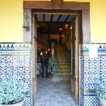 Puerta de entrada a la Casona