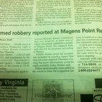 guess i wasn't the only one robbed there!