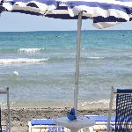La prima fila in spiaggia....... Miraggio!