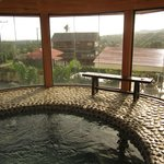 Elevated jacuzzi