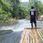 Bamboo Rafting.