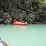 Sea Cave Canoeing - beautiful.