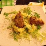 Pork with patatoe mash.