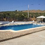 View of the pool from La Casita doorway