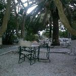 Mykonos town, cine manto cafe
