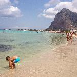 Il mare della sicilia.