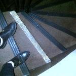 Escalier délabré