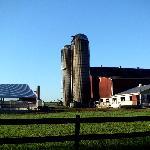 View of neighboring farm