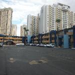 travelodge dal parcheggio