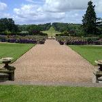 ragley Hall Rose Garden
