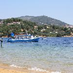 water taxi from Kanapitsa to Skiathos Town