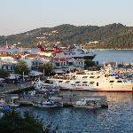 harbour Skiathos Town - view from Selinas restaurant