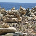 North Side of Island - Inuksuks