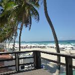 Desde el Beach Club del Hotel Le Flamboyant