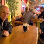One of our locals enjoying his Guinness
