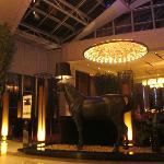 10th floor lobby at night