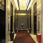 The lifts to the rooms