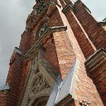 Udenfor kirken