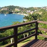vista desde el balcon del living