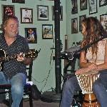 Rob Tyre & Teri Cote' entertaining at the Wayside Grill