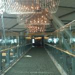 Entering Fairmont Vancouver Airport