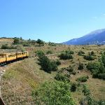 take the narrow gauge train into the Pyrenees
