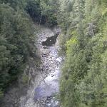 hike to view of Quechee Gorge near Inn