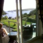 View from bedroom overlooking bay
