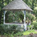 Gazebo on the Wedgewood Inn grounds