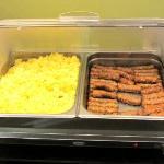 Hot breakfast items