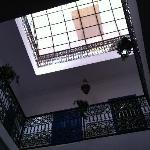 looking up from ground floor