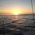 Sunset on Catamaran Cruise