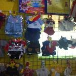 selection of clothes for teddys