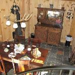 Ladybug cabin main floor