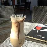 Ice caffe served in the Hotel Restaurant