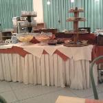 Un particolare del buffet della sala pranzo sempre ricco a colazione, pranzo e cena impeccabile.
