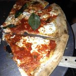 Awesome Patsy's pizza with Ricotta on top!!!!