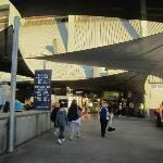 Entry to Petersons Stadium