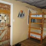 bunkbeds in living area of Fishermans Hut